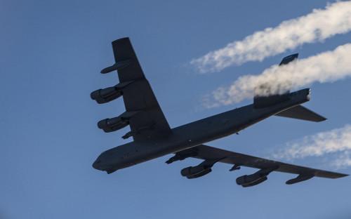 <p>B-52H Stratofortress</p>