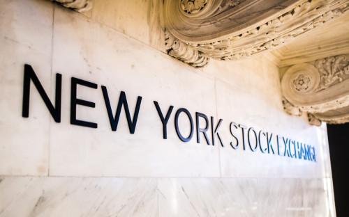<p>Нью-Йоркская фондовая биржа, США</p>