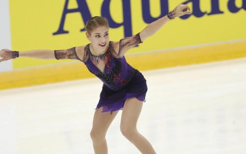 Чемпионка Европы по фигурному катанию Алена Косторная