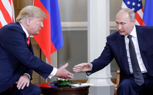 Трамп объявил о планах встретиться с Путиным