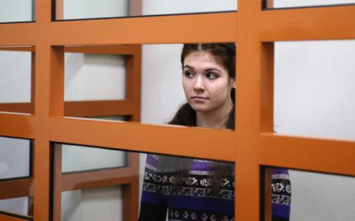<p>Бывшая студентка МГУ Александра Иванова (Варвара Караулова)</p>  <p></p>