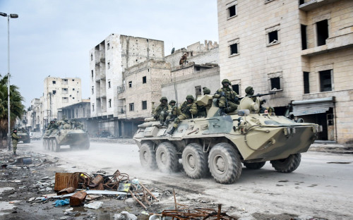<p>Российские военные в Сирии</p>  <p></p>