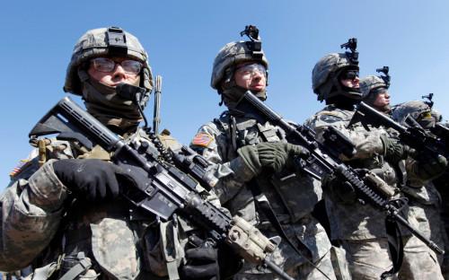 Американские военные на учениях Key Resolve в 2011 году