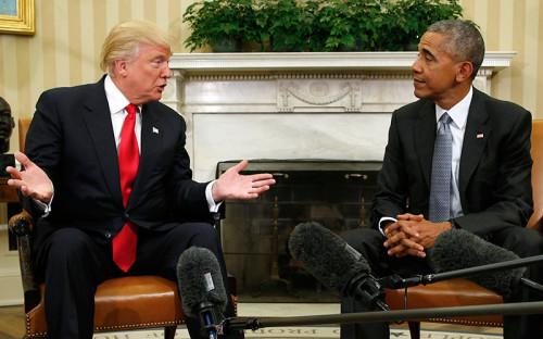 """<p><strong>Отозвать ряд ключевых законов, принятых Обамой</strong></p>  <p>26 декабря соратник Трампа, бывший спикер конгресса США Ньют Гингрич <a href=""""http://www.rbc.ru/rbcfreenews/58605d819a794717761cc2ba"""">заявил</a> в&nbsp;интервью, что&nbsp;избранный президент США планирует отменить до&nbsp;70% законов, принятых Обамой. &laquo;Я думаю, что&nbsp;в&nbsp;первые дни после&nbsp;своего назначения он отменит 60 или&nbsp;70% указов, которые ему достанутся в&nbsp;наследство от&nbsp;Барака Обамы&raquo;,&nbsp;&mdash; сказал Гингрич. В этот список может попасть реформа здравоохранения, несколько международных соглашений, а&nbsp;также меры, касающиеся зеленой энергетики.</p>  <p></p>"""