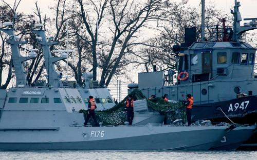 Киев отказался считать возврат Россией кораблей актом доброй воли
