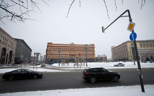 Вид на Лубянскую площадь
