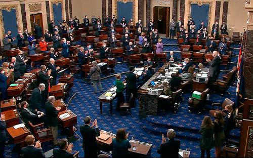 Фото:Senate Television via AP