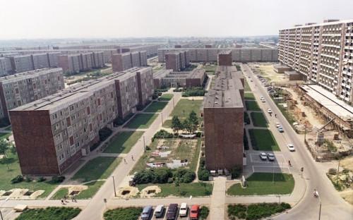 Пятиэтажки вРостоке, ГДР. 1976 год