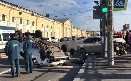 Фото:УГИБДД по Санкт-Петербургу / ТАСС