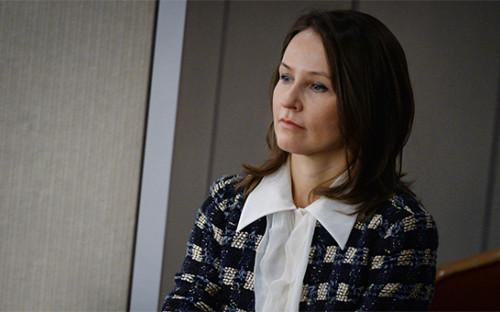 <p>Супруга министра промышленности и торговли Наталья Мантурова</p>  <p></p>