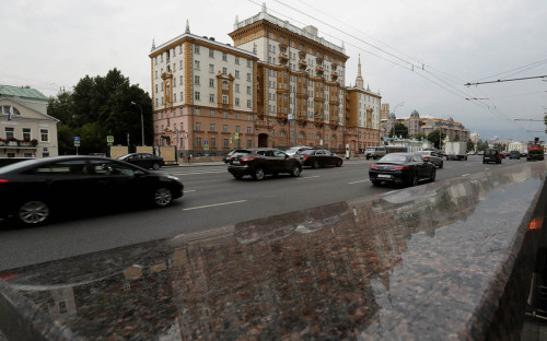 <p>Здание посольства США в Москве</p>  <p></p>