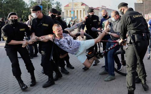 Обстановка в Минске 19 июня 2020г.