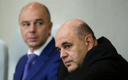 Антон Силуанов и Михаил Мишустин