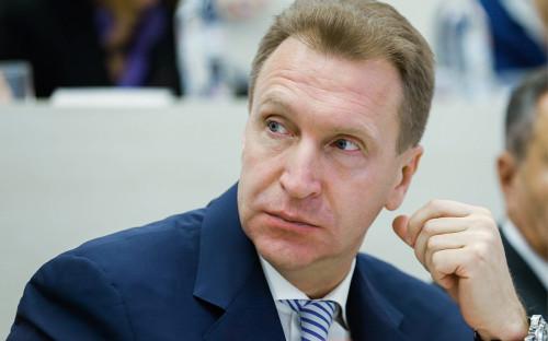 <p>Игорь Шувалов</p>  <p></p>