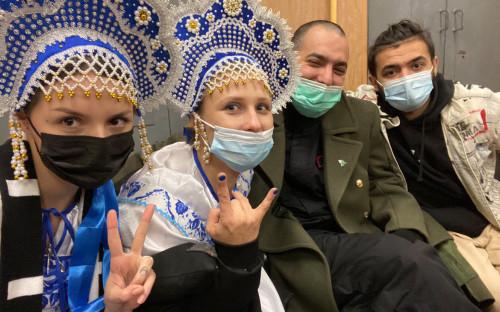Рита Флорес, Мария Алехина, Фархат Исрафилли-Гельман и Самариддин Раджабов (слева направо)