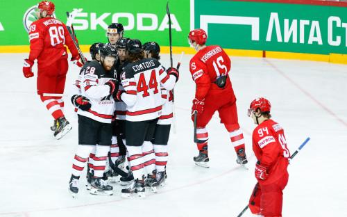 Фото: Россия — Канада. (Jari PestelacciJP/Keystone Press Agency)