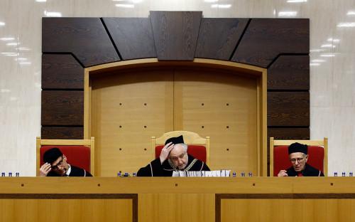 <p>Конституционный трибунал Польши</p>  <p></p>