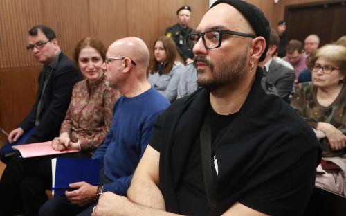 Кирилл Серебренников, Алексей Малобродский, Софья Апфельбаум иЮрий Итин(справа налево на первом плане)