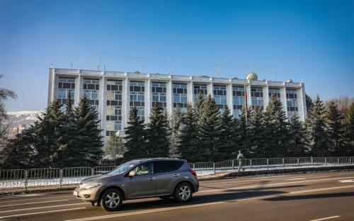 Вид на здание посольства РФ в Болгарии