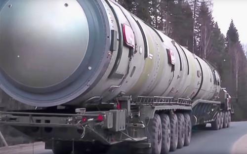 Российский ракетный комплекс РС-28 «Сармат»