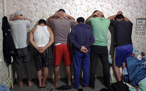 <p>Задержание членов экстремистской организации в&nbsp;Московском регионе. Декабрь 2016 года</p>