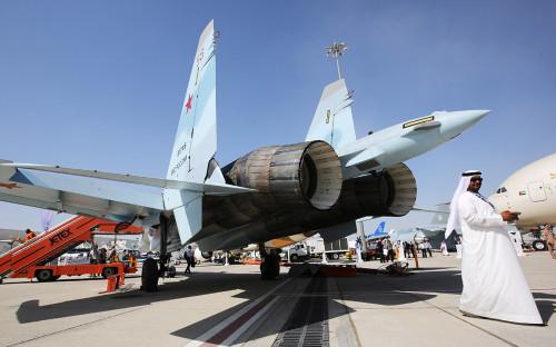 <p>Многоцелевой истребитель Су-35С&nbsp;</p>