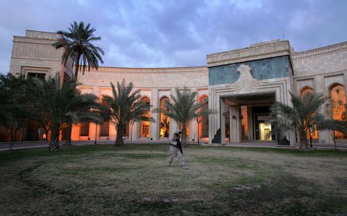 Посольство США в Багдаде