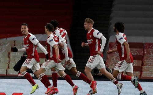 """Фото: Футболисты """"Арсенала"""" (Фото: AP)"""