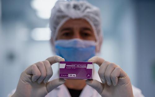 Производство препарата «Ремдесивир»