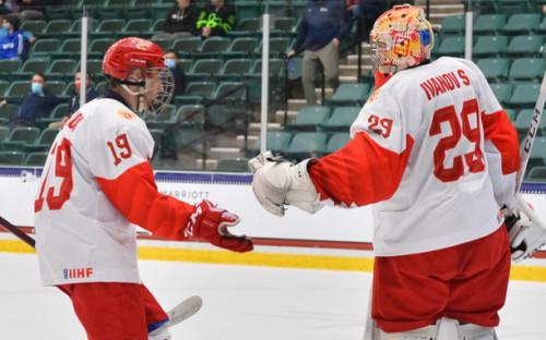 Фото: Игроки сборной России (Фото: сайт Федерации хоккея страны)
