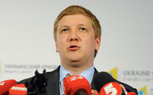 Председатель правления «Нафтогаз Украины» Андрей Коболев