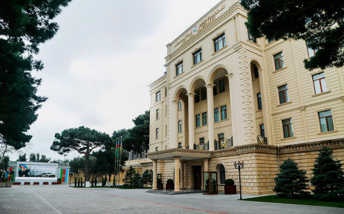 <p>Министерство обороны Азербайджана</p>