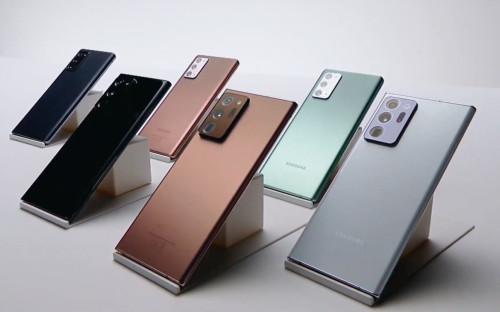 Смартфоны Samsung Galaxy Note20