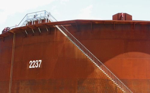 Нефтехранилища в Кушинге, США