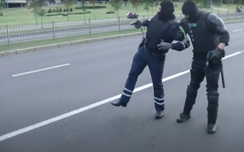 Фото: МВД Белоруссии / YouTube