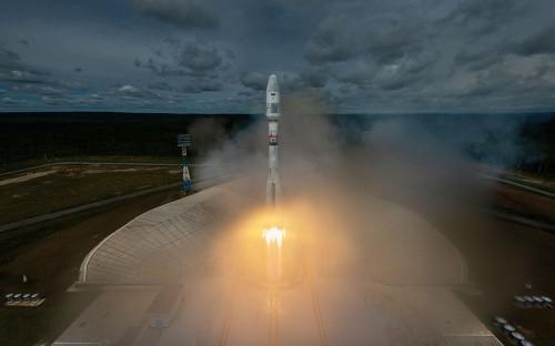 Запуск ракеты-носителя «Союз-2.1а»