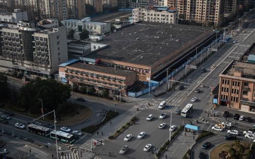 Рынок морепродуктов Хуанань в Ухане