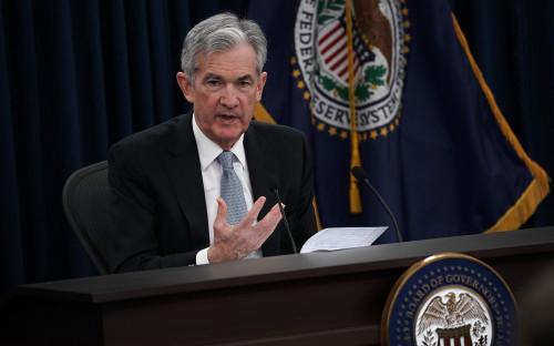Председатель ФРС США Джером Пауэлл