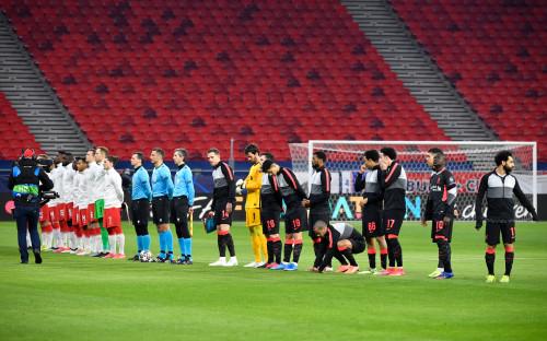 Первый матч 1/8 финала Лиги чемпионов между «Ливерпулем» и «Лейпцигом»