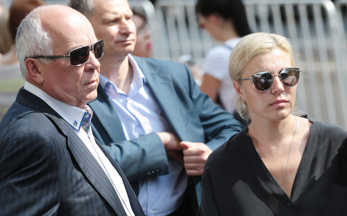 Сергей Чемезов с супругой Екатериной Игнатовой