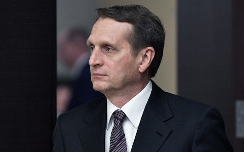 <p>Сергей Нарышкин</p>  <p></p>