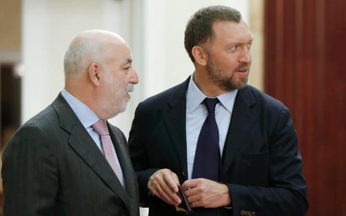 Виктор Вексельберг (слева) и Олег Дерипаска