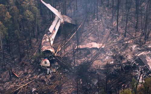 <p>Место крушения самолета Ил-76 обнаружено спасателями отряда &laquo;Центроспас&raquo; в&nbsp;Иркутской области</p>