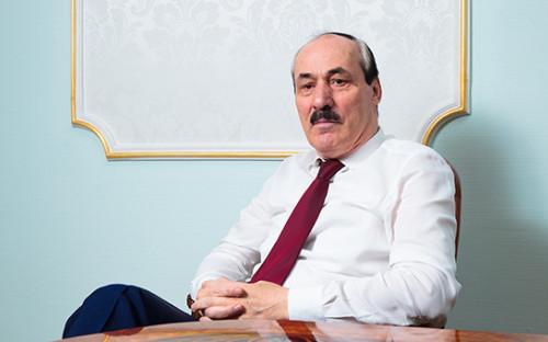 <p>Глава Дагестана Рамазан Абдулатипов</p>  <p></p>