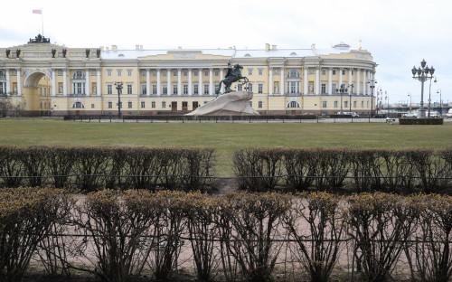 Санкт-Петербург. Вид на здание Конституционного суда
