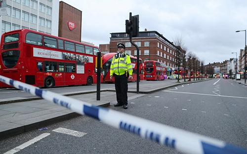 Полиция признала инцидент связанным с терроризмом.