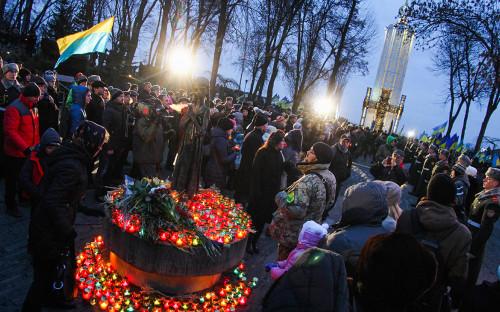 День памяти жертв голодоморана Украине в 2015 году