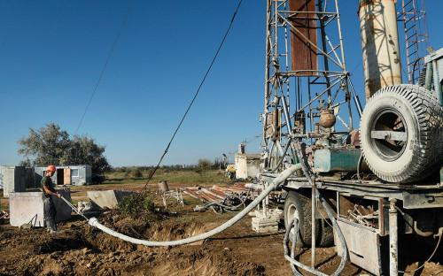 Бурение новых скважин для водообеспечения Крыма