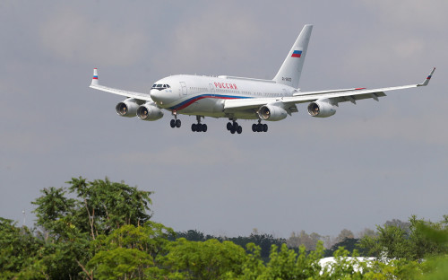 Самолет президента РФ Владимира Путина