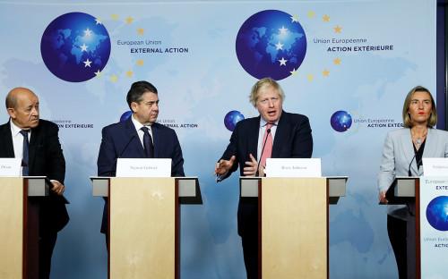 Пресс-брифинг после переговоров в Брюсселе